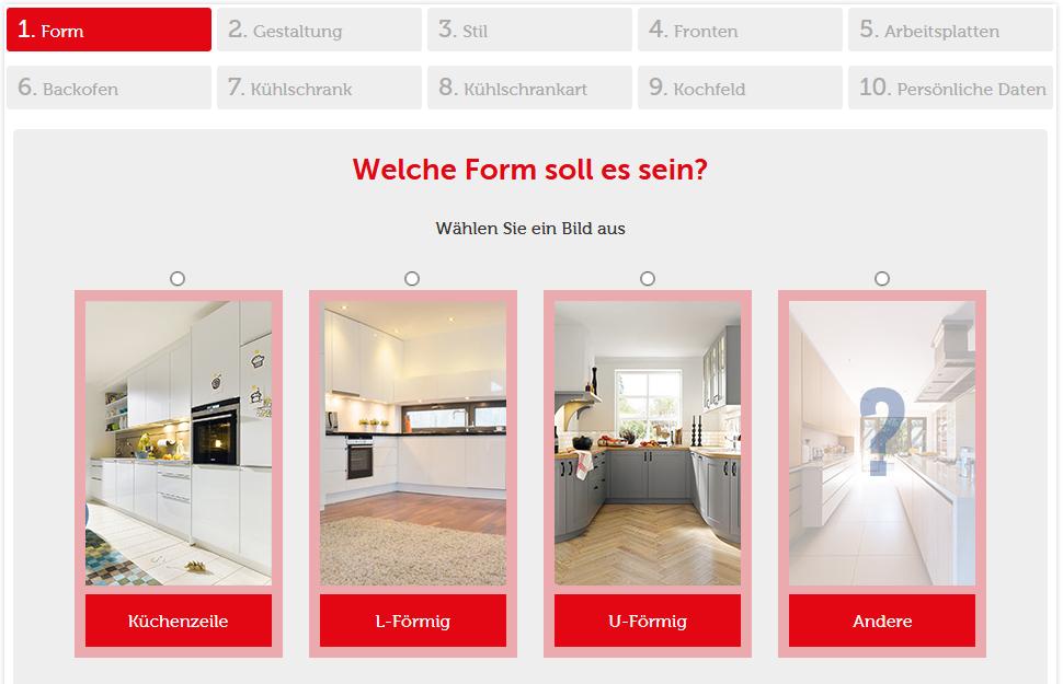 Onlineplaner Küchen
